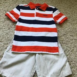 Little boys Izod outfit